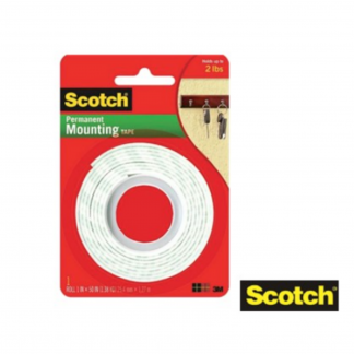 Stationery Wholesalers| Scotch ,Permanent Mounting tape, White Tape , Indoor Mounting Tape