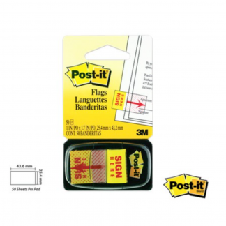 Stationery Wholesalers  Post-it Notes ,Sticky Notes, Sign Here Notes , Flags , Pop Up Flags, Yellow