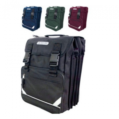 Stationery Wholesalers  drawstring backpack, 3 compartment bag, 7 compartment bag,maroon, black, blue, green,