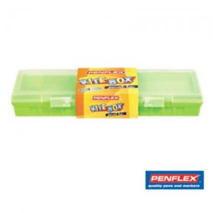 Stationery Wholesalers |rite-box pencil case, assorted colours, penflex, 33cm,