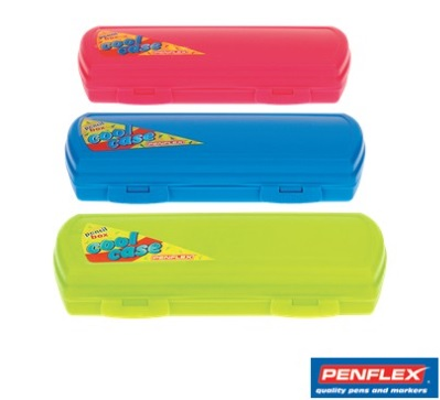 Stationery Wholesalers   Penflex , Penflex Pencil Case , CLip In penciil Case, Green ,Blue , Pink, Cool Pencil Case