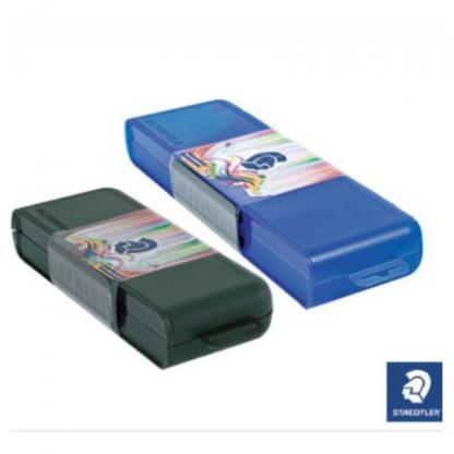 Stationery Wholesalers  assorted colours, pencil case, 20cm, 30cm, assorted colours, blue, black, staedtler