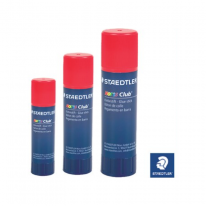 Stationery Wholesalers |steadtler glue blue bottle, red cap, 21g, 32g 44g,