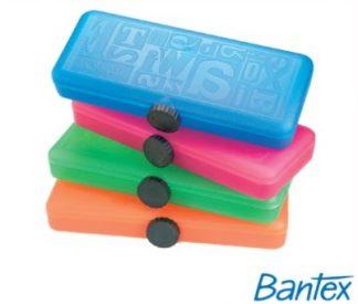Stationery Wholesalers| Bantex , MCJunior Pencil Case, Twist Lock, Pink ,Blue , green,