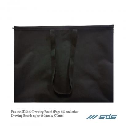 Stationery Wholesalers |drawing board bag, black, sds, 480mmx370mm, zip up bag