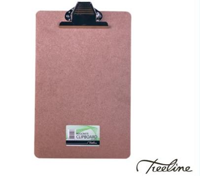 Stationery Wholesalers |clipboards, A4 masonite, treeline clipboard, paper holders