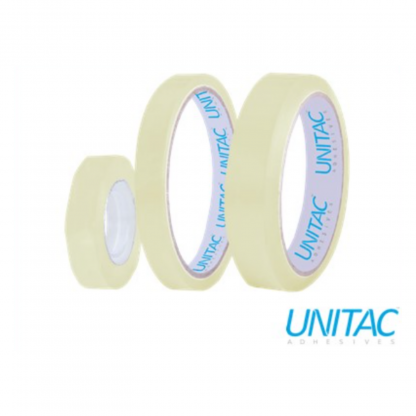 Stationery Wholesalers |stationery wholesalers, unitac, small core clear tape, 12mmx33mm