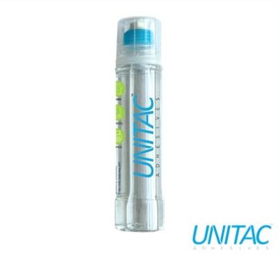 Stationery Wholesalers  Unitac, Adhesive, clear glue , Silver Bottle , Liquid Glue