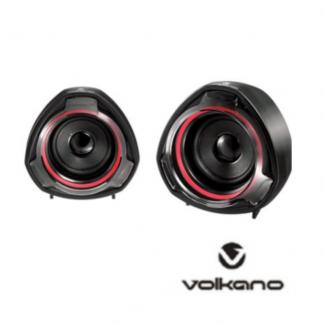 Volakano Speakers, sound, black, red, Stationery Wholesalers