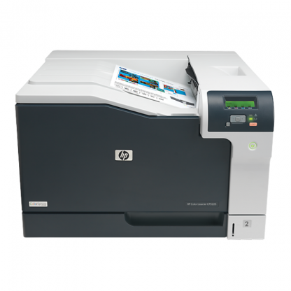 Stationery Wholesalers   HP Color LaserJet Professional CP5225 Series Printer, grey silver, ink ,